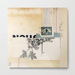 """A hint of blue #2"" Metal Print"