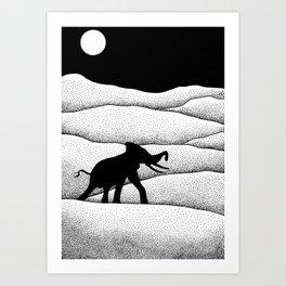 Elephants Dream Art Print