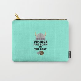 Vikings are born in the East T-Shirt Dxli7 Carry-All Pouch