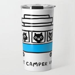 Cat camper van Travel Mug