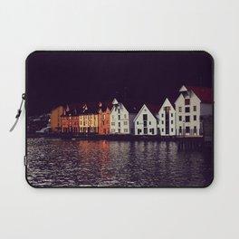 Hanseatic Wharf in Bergen, Norway - Fine Art Travel Photography Laptop Sleeve