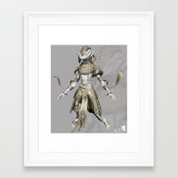sci fi Framed Art Prints featuring sci-fi by guru8