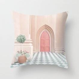A French Door Throw Pillow