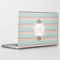 islam Laptop & iPad Skins featuring الإسلام - islam  by Peonies