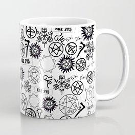 Supernatural Symbols Coffee Mug