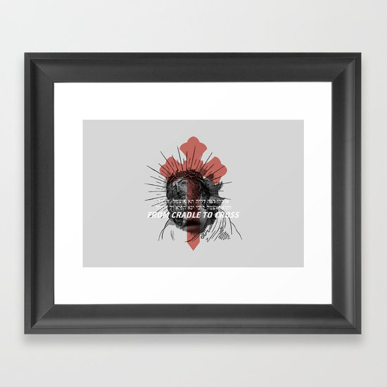 Jesus Survives Infanticide (by Evan Stremke) Framed Art Print