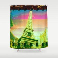 Las Vegas | Project L0̷SS   Shower Curtain