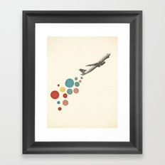 Leaving on a Jet Plane Framed Art Print