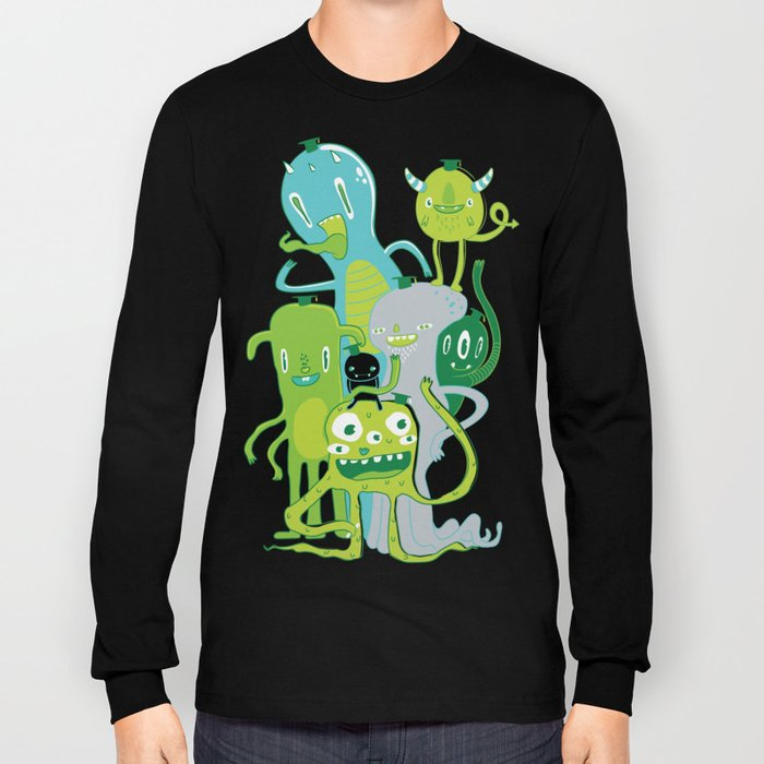 Done with Monster School! Long Sleeve T-shirt