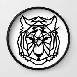 Tribal Tiger Wall Clock