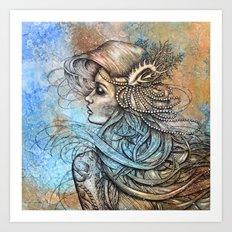 sailor's ruin Art Print
