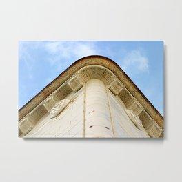 Corner Building Metal Print