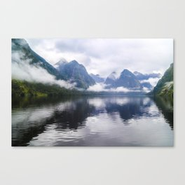 Mesmerizing Reflections Canvas Print