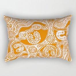 Bloodlines - Burnt Country Rectangular Pillow