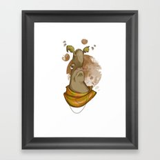 Al the Alien Framed Art Print