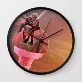 50 Shades of Strawberry /SUMMER 23-06-16 Wall Clock