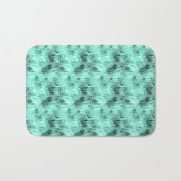 Patched Teal Waters Bath Mat