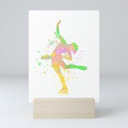 Figure Skating Gift Idea Tournament Runner Mini Art Print