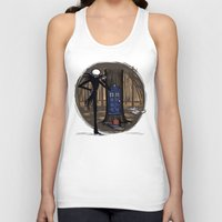hallion Tank Tops featuring What's This? What's This? by Karen Hallion Illustrations