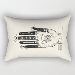 master of my fate II. Rectangular Pillow