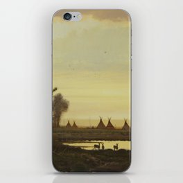 Brother of the Deer iPhone Skin