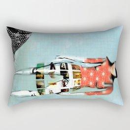 Girl with Snail Rectangular Pillow