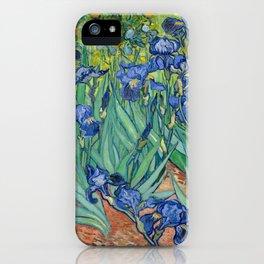 Irises by Vincent Van Gogh, 1889 iPhone Case