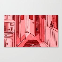 135? Canvas Print
