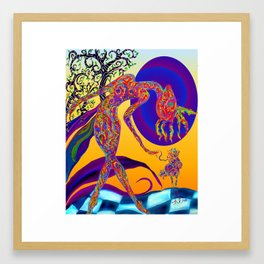 mymy Framed Art Print