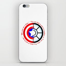 SteveTony - Encircling Quotes iPhone Skin