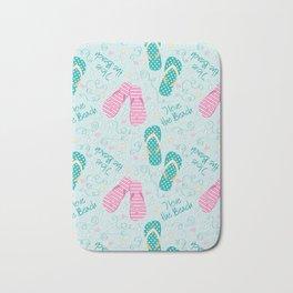 I love the beach Bath Mat