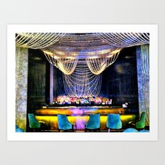 Smooth Night Out Art Print