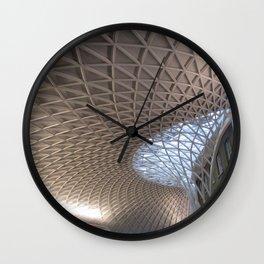 London Kings Cross Station Roof  Wall Clock