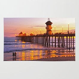 HB Sunset Picture Takers Rug