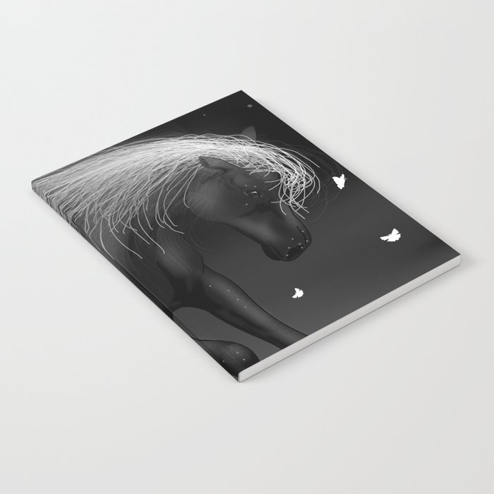 Black Horse Notebook
