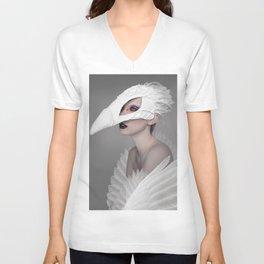 birdgirl Unisex V-Neck