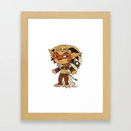 Little Heroes Framed Art Print