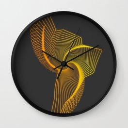 echo map latinoamerica Wall Clock