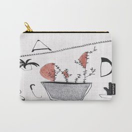 Abcd Carry-All Pouch