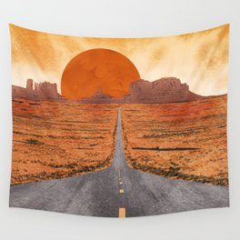 Monument Valley watercolor Wall Tapestry