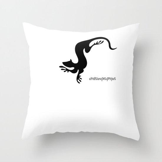Weasel 1 Throw Pillow