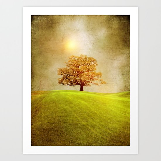 Energy & love  Art Print