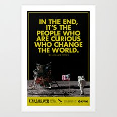 The Curious Ones Art Print