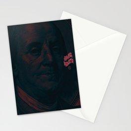 Benjamin Dark (green-pink) Stationery Cards