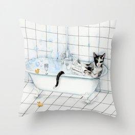 DO NOT DISTURB 2 Throw Pillow