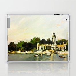 The Lake at Buen Retiro Park Laptop & iPad Skin
