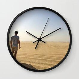 Like a desert Wall Clock