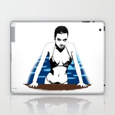 Out of the pool Laptop & iPad Skin