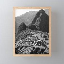 Machu Picchu v.2 Framed Mini Art Print