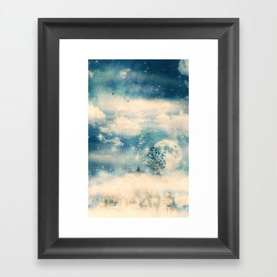 I know a place... Framed Art Print